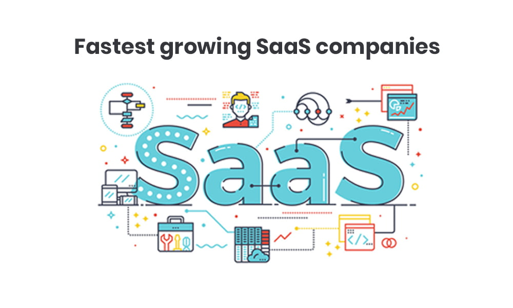 Find out fastest-growing SaaS comapnies
